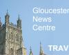 TRAVEL: Double decker bus hits railway bridge on Hyde Lane in Cheltenham
