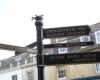 Work starts on new pedestrian signage for Cheltenham town centre