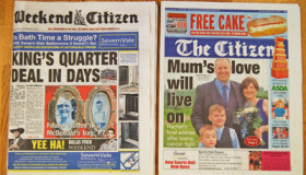 The Citizen and Gloucestershire Echo to become weekly publication