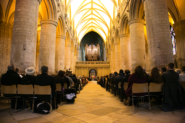 Gloucester Cathedral Graduation Ceremony - GAGC