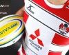 Gloucester Rugby unveil new home kit for next season