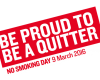 Stub it out for No Smoking Day