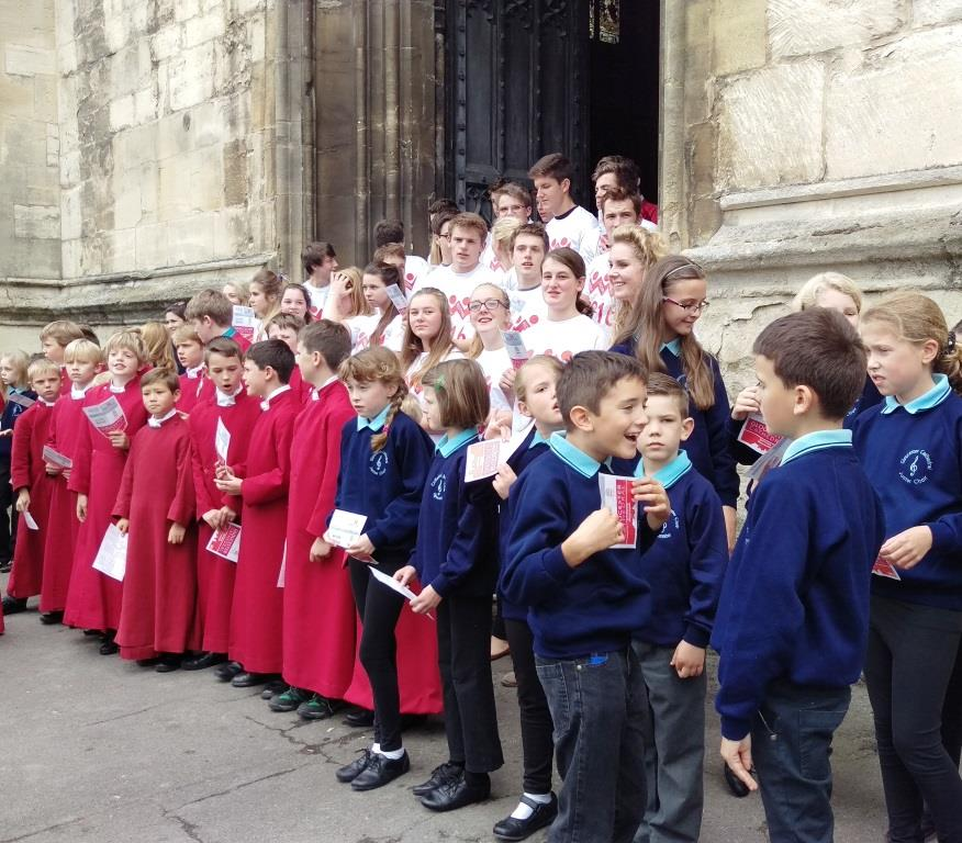 Cathedral Choristers, Youth Choir and Junior Choir 2015