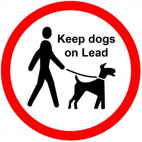 Dog Lead Sign
