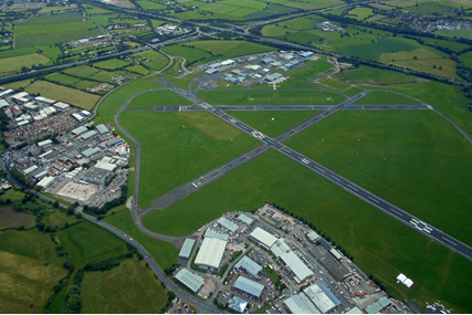 gloucestershire airport aerial usage allowed