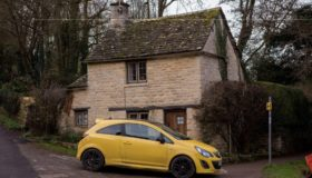 Pensioners yellow car blamed for ruining famous village view has been vandalized