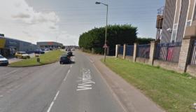 New road surface for Wyman's Lane, Cheltenham