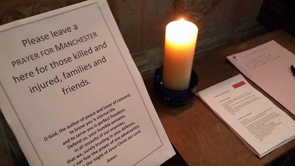 Gloucester News Centre – Manchester Attack: Prayers for Manchester