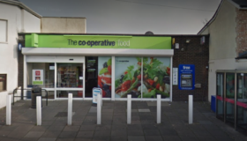 Co-op staff threatened at knife-point by robber