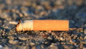 Fines issued for dropped cigarette ends