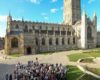 Launch event to mark the completion of phase 1 of Project Pilgrim at Gloucester Cathedral - including work on the Lady Chapel, information points and signage, steps outside the cathedral and the public garden space among others. Photos by Anna Lythgoe 14.06.18. 07801819711