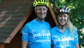 I cycled every day to radiotherapy