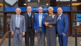 Local community heroes receive royal merit